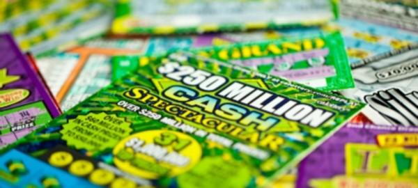 scratchers lottey ticket